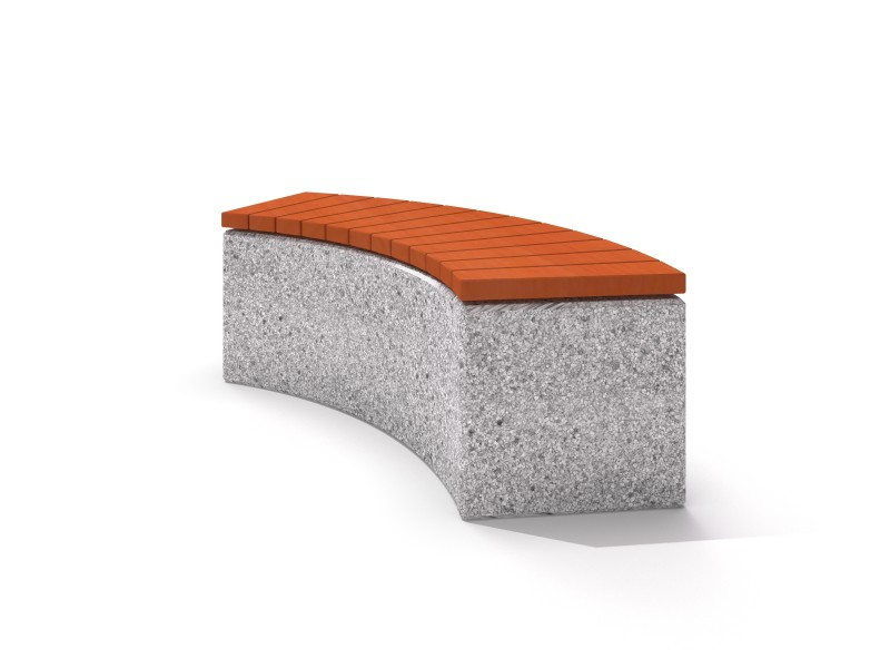 Ławka betonowa 3 Plac zabaw benches-concrete-bench-03