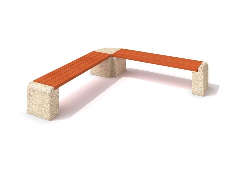 Ławka betonowa 7 Plac zabaw benches-concrete-bench-07
