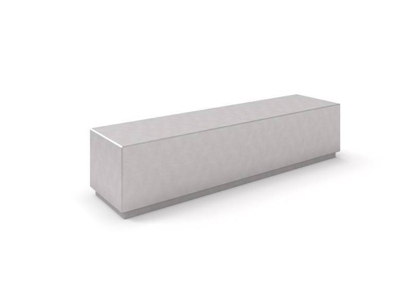 Ławka betonowa DECO 2 Place zabaw INTER-FUN