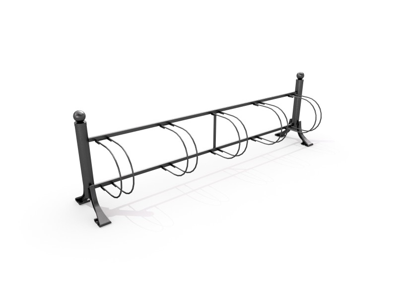 Stojak rowerowy żeliwny 01 Plac zabaw bicycle-racks-cast-iron-bicycle-rack-01-
