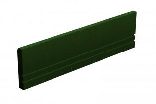 INTER-FUN - Elastyczny krawężnik 1000 x 250 x 50 mm - zielony