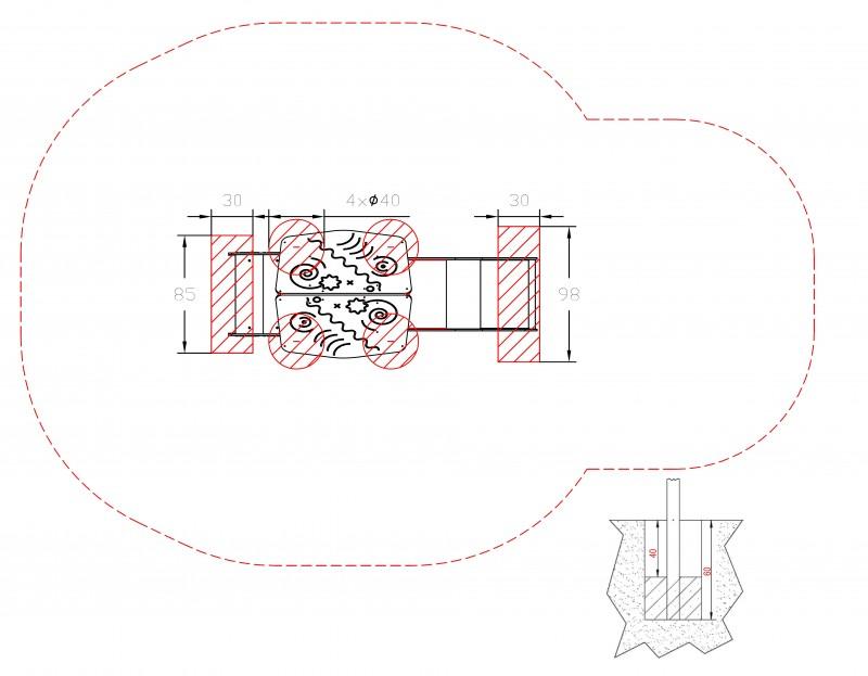 Plac zabaw Zestaw Piro 1-1 INTER-FUN