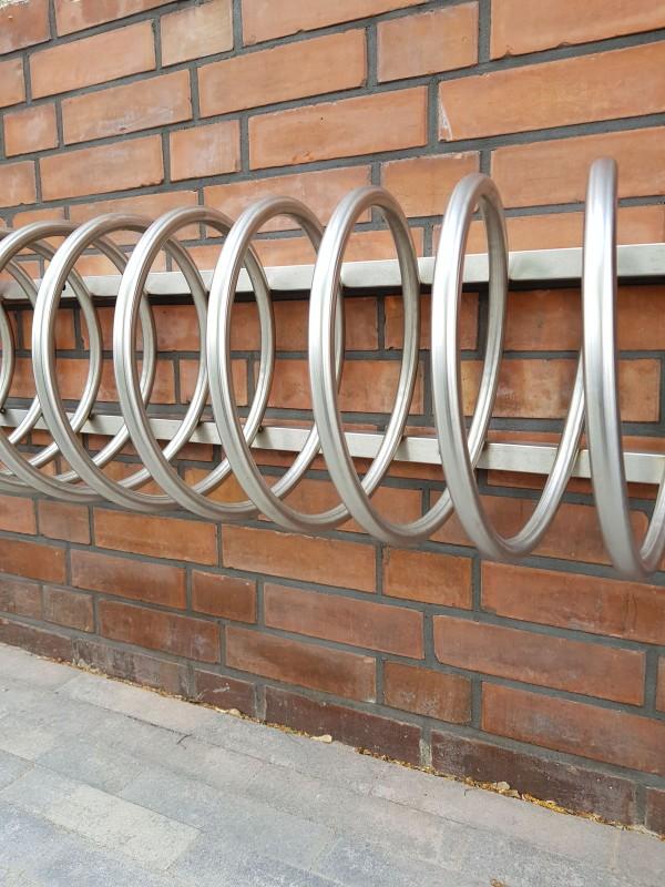 Plac zabaw Stojak rowerowy stalowy 13 INTER-FUN