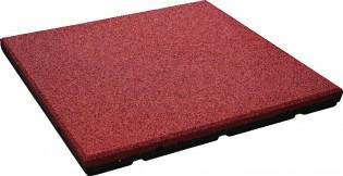 INTER-FUN - Bezpieczna płytka 500x500x30mm - czerwona