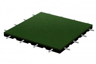 Bezpieczna płytka 500x500x30mm - zielona