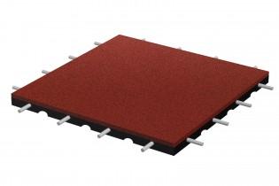 Bezpieczna płytka 500x500x45mm - czerwona