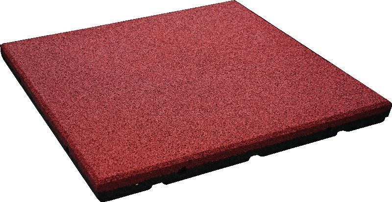 Bezpieczna płytka 500x500x90mm - czerwona Plac zabaw flexi-step-plus-bezpieczna-plytka-500x500x70mm-czerwona-90