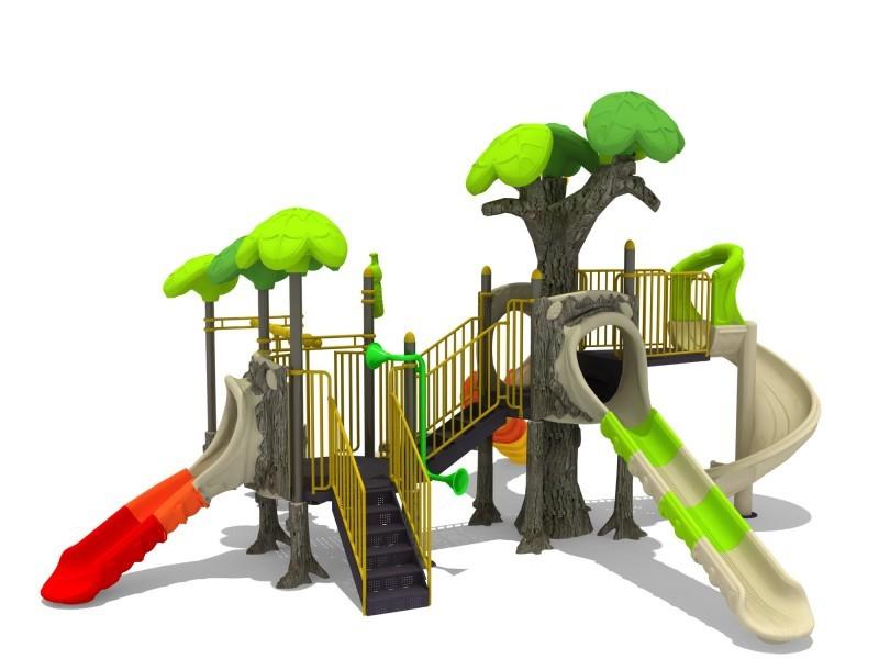 Play-Park Serie na place zabaw zestawy-las
