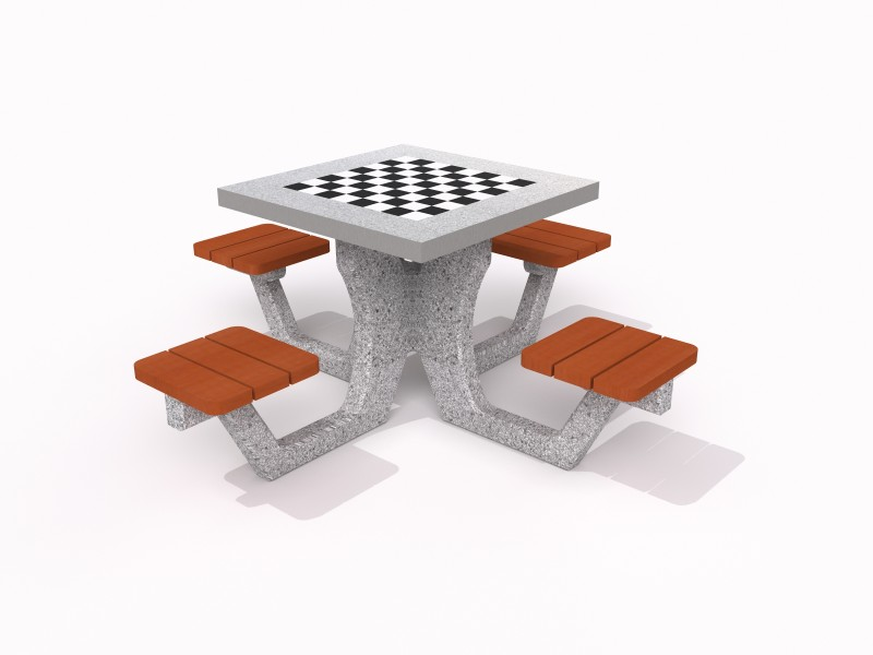 Play-Park Serie na place zabaw stoły-betonowe-do-parkow