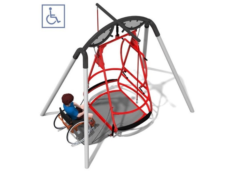 Play-Park Serie na place zabaw zestawy-integrado
