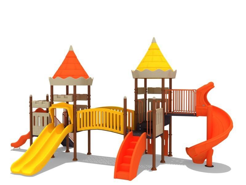 Play-Park Serie na place zabaw zestawy-zamek