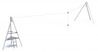 Zjazd linowy Aspen 25m