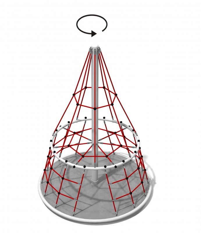 MT. Everest Plac zabaw new-2091playground-net-structures-mt-everest