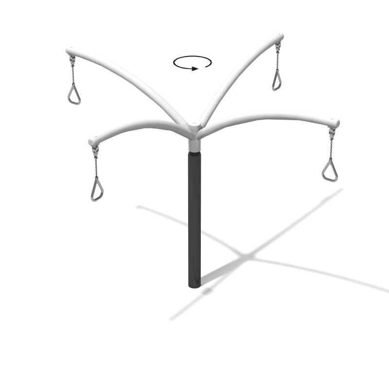 Karuzela słupowa Zephyr 4 Plac zabaw new-3753playground-hanging-roundabouts-zephyr-4