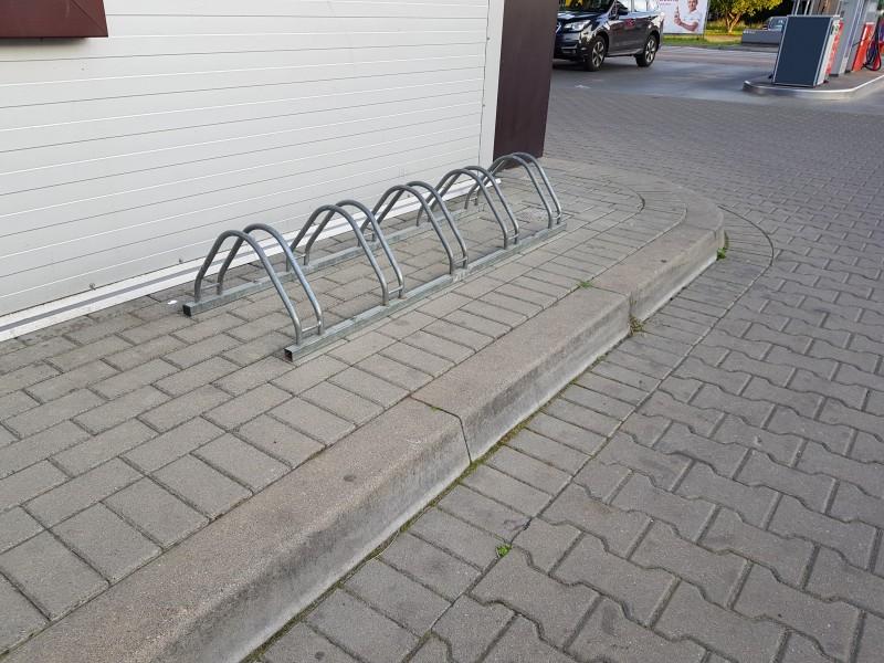 Plac zabaw Stojak rowerowy nierdzewny 17 INTER FUN