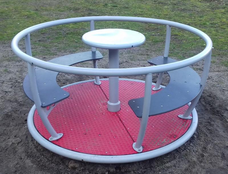 Plac zabaw Karuzela Tornado - 4 siedziska INTER FUN