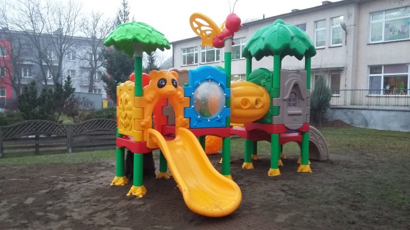 Plac zabaw Zestaw Kids 4 INTER FUN