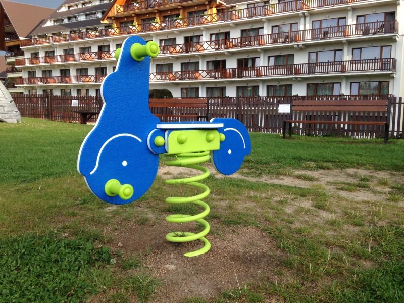 Plac zabaw Bujak na sprężynie SKUTER INTER FUN