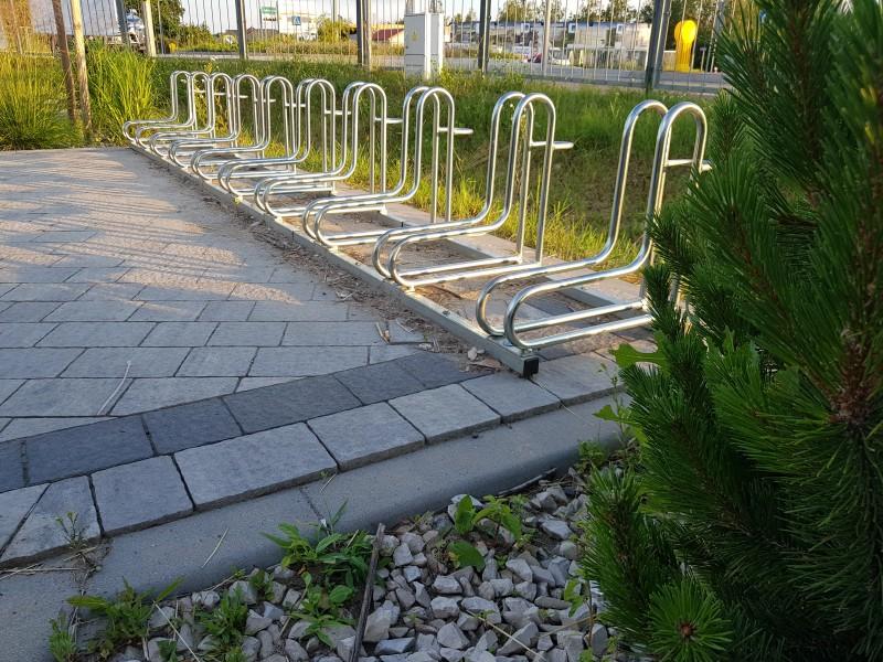 Plac zabaw Stojak rowerowy stalowy 18 INTER FUN