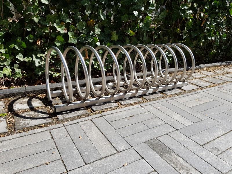 Plac zabaw Stojak rowerowy nierdzewny 13 INTER FUN