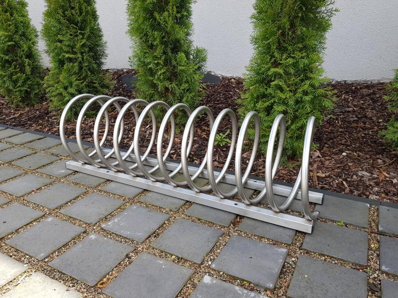 Plac zabaw Stojak rowerowy stalowy 13 INTER FUN