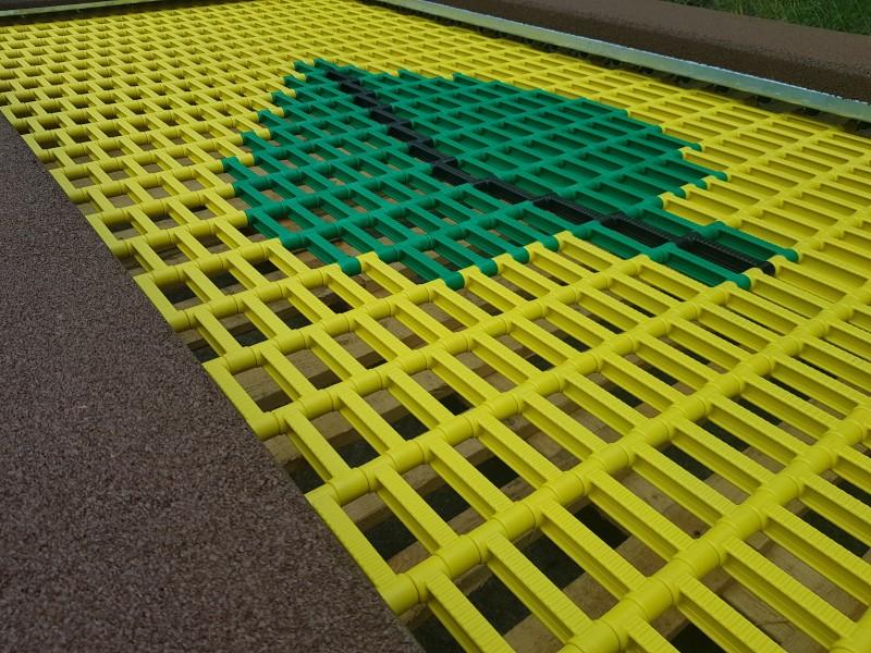 Plac zabaw Trampolina Orta 150 x 200 INTER FUN