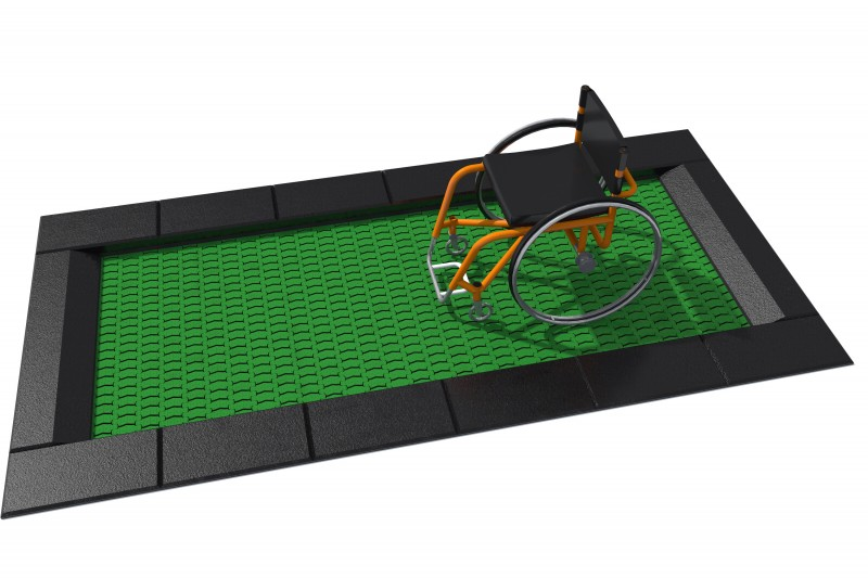 Trampolina Orta-I 150 x 250 Plac zabaw trampolina-otra-i-150x250-48