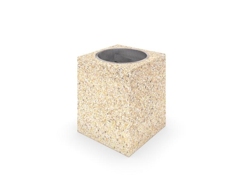Ławka betonowa DECO 11 Place zabaw INTER-FUN
