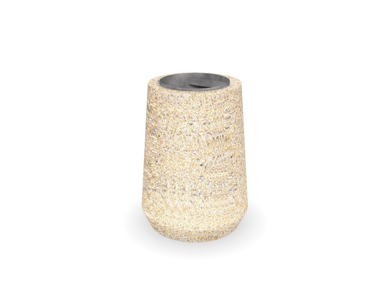Kosz betonowy 01 Place zabaw INTER-FUN