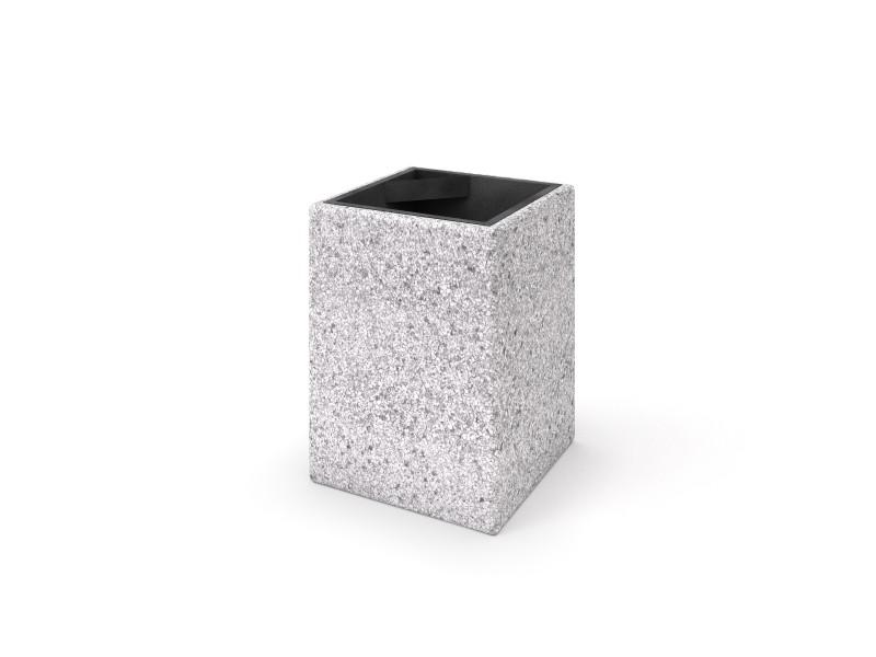 Kosz betonowy 04 Place zabaw INTER-FUN