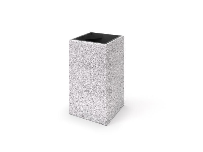 Kosz betonowy 05 Place zabaw INTER-FUN