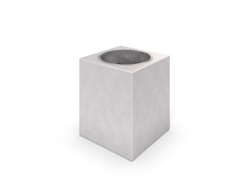 Donica betonowa zestaw z ławką 04 Place zabaw INTER-FUN