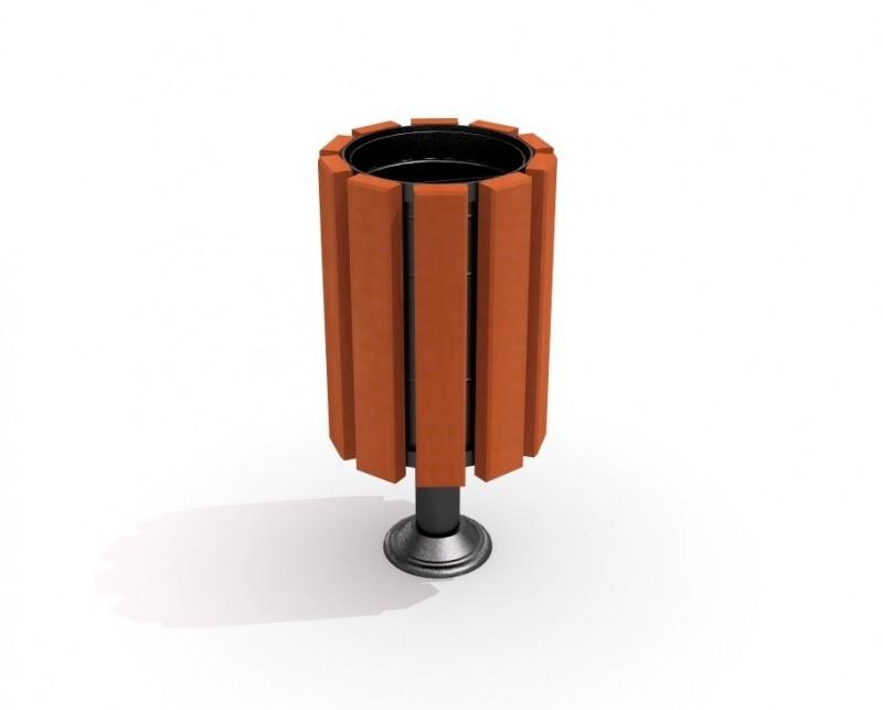 Kosz stalowy 01 Plac zabaw trash-bin-steel-trash-bin-01