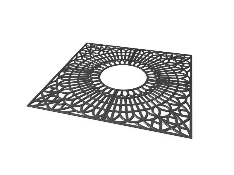 Krata 1a Plac zabaw tree-grilles-grille-1a