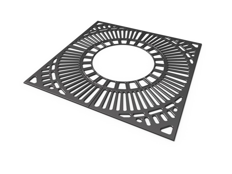 Krata 2a Plac zabaw tree-grilles-grille-2a