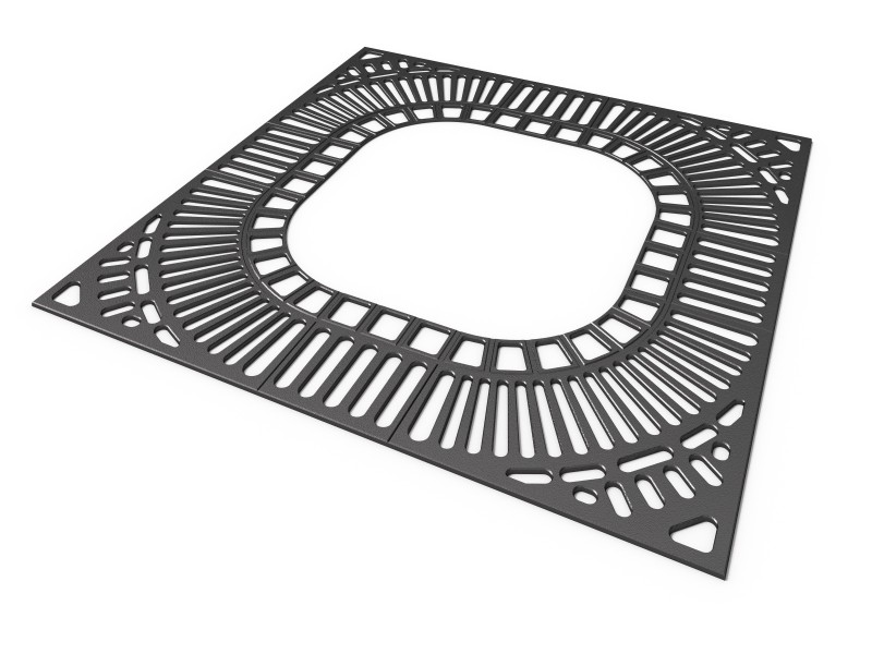 Krata 2c Plac zabaw tree-grilles-grille-2c