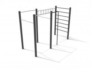INTER-FUN - Zestaw gimnastyczny 4