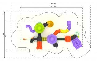 INTER-FUN Wyposażenie placu zabaw